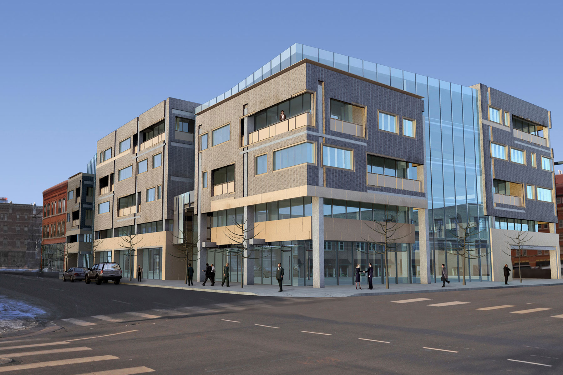 Mixed Use - Retail and Office Building – Denver, Colorado