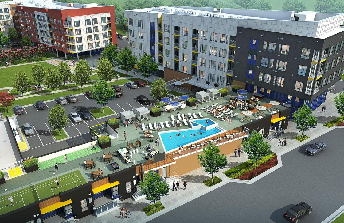 Apartment Complex - 2 Buildings 5 Story – Lakewood, Colorado