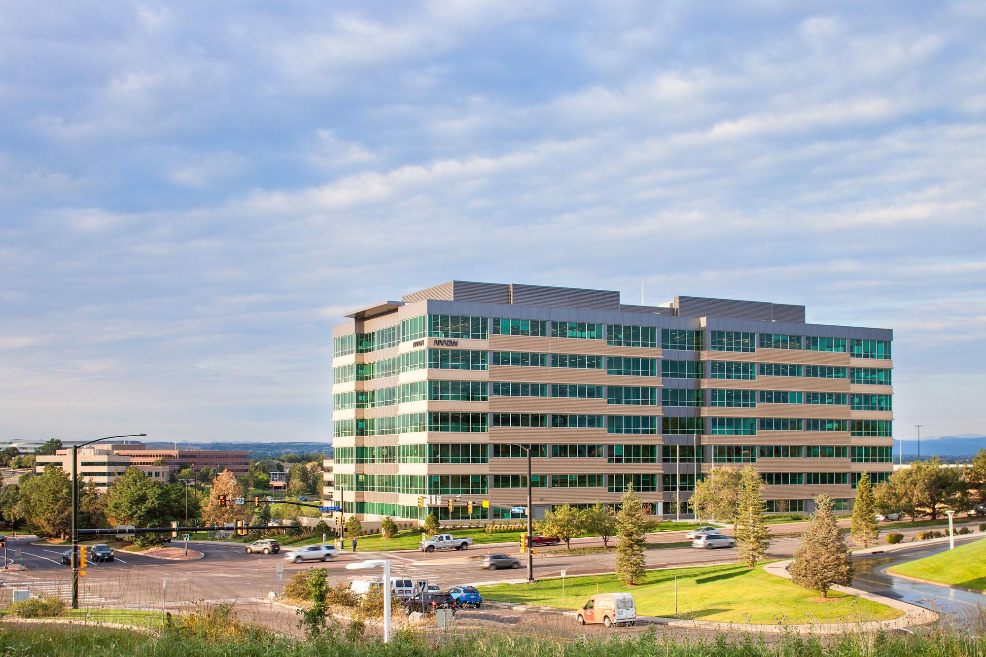 Office Building and Parking Garage – Centennial, Colorado