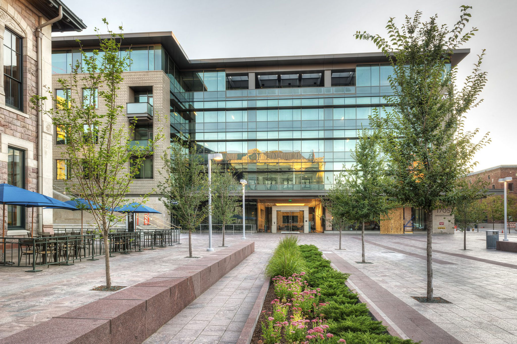 5 Story Office Building and 3 levels of underground parking – Denver, Colorado
