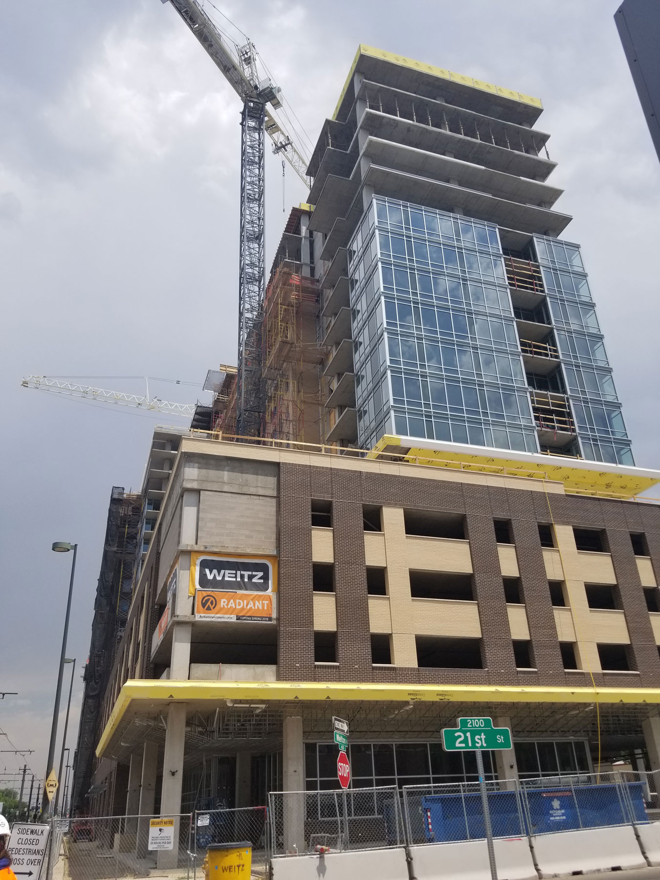 18 Story Mixed Use - Retail and Apartments – Denver, Colorado